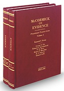 Cover of McCormick on Evidence
