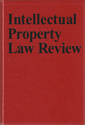 Cover of Intellectual Property Law Review: Bound Volumes Only