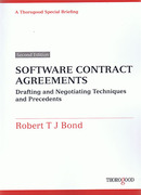 Cover of Software Contract Agreements: Drafting and Negotiating Techniques and Precedents