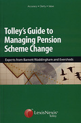 Cover of Tolley's Guide to Managing Pension Scheme Change
