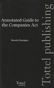 Cover of Hannigan: Annotated Guide to the Companies Act