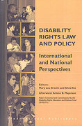 Cover of Disability Rights Law and Policy