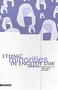 Cover of Ethnic Minorities in English Law