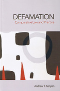 Cover of Defamation: Comparative Law and Practice