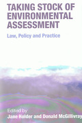 Cover of Taking Stock of Environmental Assessment: Law, Policy and Custom