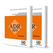 Cover of ADR 2015: European Agreement Concerning the International Carriage of Dangerous Goods by Road