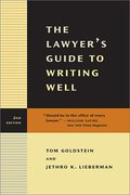 Cover of The Lawyer's Guide to Writing Well