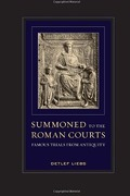 Cover of Summoned to the Roman Courts: Famous Trials from Antiquity