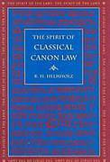 Cover of The Spirit of Classical Canon Law