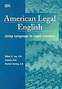 Cover of American Legal English