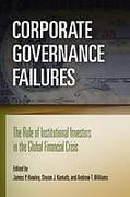 Cover of Corporate Governance Failures: The Role of Institutional Investors in the Global Financial Crisis