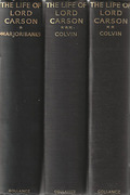Cover of The Life of Lord Carson in 3 Volumes