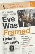Cover of Eve Was Framed: Women and British Justice