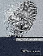 Cover of A Casebook on Scottish Criminal Law