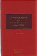 Cover of Sudden Deaths and Fatal Accident Inquiries