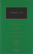 Cover of The Criminal Law of Scotland 3rd ed Supplement