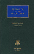 Cover of The Law of Contract in Scotland