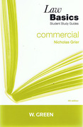 Cover of Law Basics: Commercial