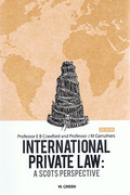 Cover of International Private Law: A Scots Perspective