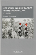 Cover of Personal Injury Practice in the Sheriff Court