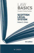 Cover of Law Basics: Scottish Legal System