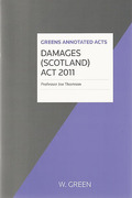 Cover of Damages (Scotland) Act: 2011