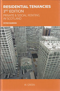 Cover of Residential Tenancies: Private and Social Renting in Scotland