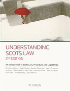 Cover of Understanding Scots Law: An Introduction to Scots Law, Procedure and Legal Skills