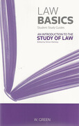 Cover of Law Basics: An Introduction to the Study of Law