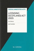 Cover of Licensing (Scotland) Act 2005