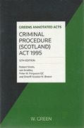 Cover of Criminal Procedure (Scotland) Act 1995