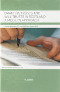 Cover of Drafting Trusts and Will Trusts in Scotland