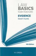 Cover of Law Basics: Evidence
