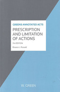 Cover of Greens Annotated Acts Prescription and Limitation of Actions
