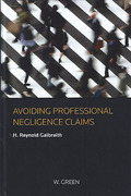 Cover of Avoiding Professional Negligence Claims