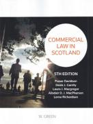Cover of Commercial Law in Scotland