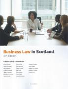 Cover of Business Law in Scotland