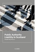 Cover of Public Authority Liability in  Scotland
