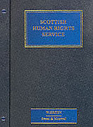 Cover of Scottish Human Rights Service Looseleaf