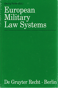 Cover of European Military Law Systems