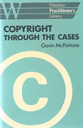 Cover of Copyright Through the Cases