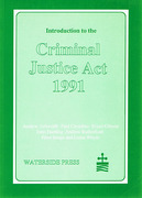 Cover of Introduction to the Criminal Justice Act, 1991