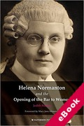 Cover of Helena Normanton and the Opening of the Bar to Women (eBook)