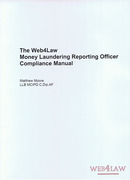 Cover of Web4Law Money Laundering Compliance Manual Looseleaf