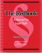 Cover of The Red Book: A Manual on Legal Style
