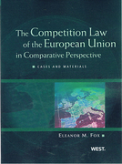 Cover of Competition Law of the European Union in Comparative Perspective: Cases and Materials