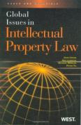 Cover of Global Issues in Intellectual Property Law