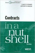 Cover of Contracts in a Nutshell