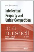 Cover of Intellectual Property and Unfair Competition in a Nutshell