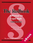 Cover of The Red Book: A Manual on Legal Style (eBook)